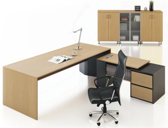 实木办公桌-bt41