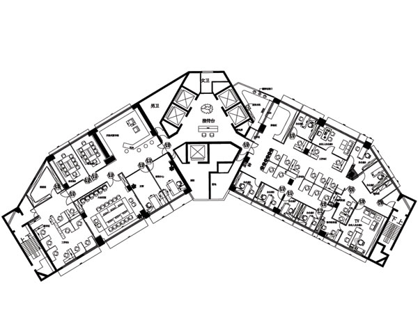 君伦律师事务所07-sm|职员办公区设计|seewin诗敏办公