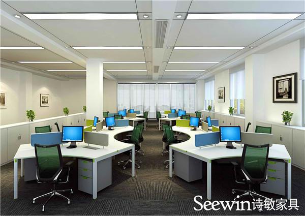 办公桌厂家:办公室不同区域的办公桌风格设计理念介绍