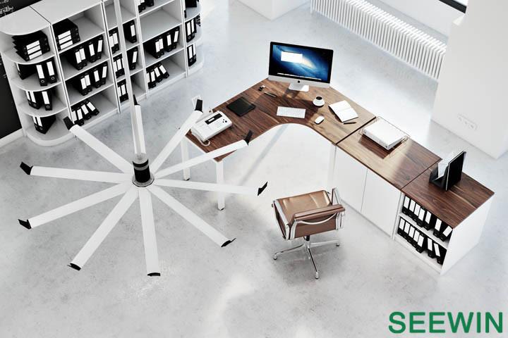 简约时办公桌设计|上海办公家具设计图片
