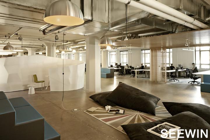 简约社区办公设计 旧金山创业孵化基地