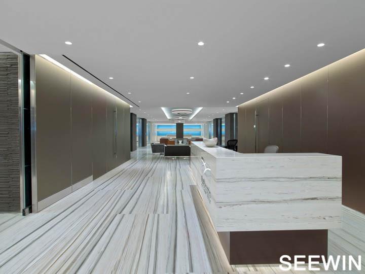 蓝山资本纽约总部设计欣赏 | 时尚办公家具