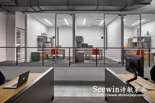 紧跟潮流,打造办公空间性冷淡风|上海办公家具展厅