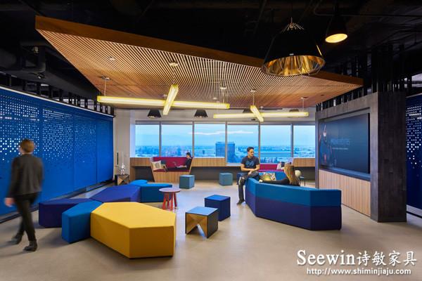 时尚休闲沙发 上海办公室家具
