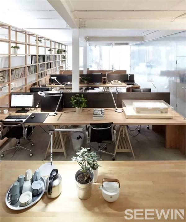 文艺办公室装修风格-北欧办公室装修风格|简约办公室装修风格|办公室