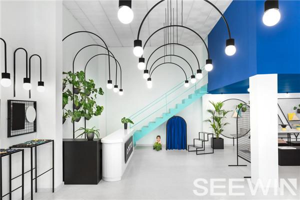 创意展厅设计|办公家具厂
