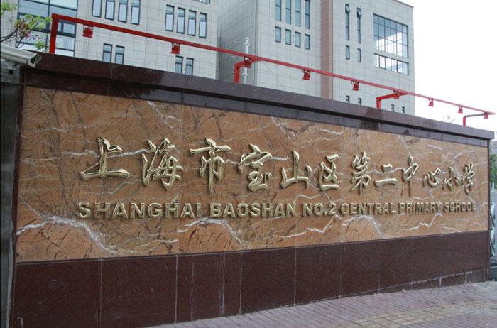 上海宝山区第二中心小学工程案例