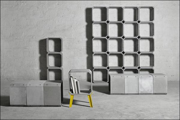 水泥也要改行做家具了?设计师的世界我们不懂!!