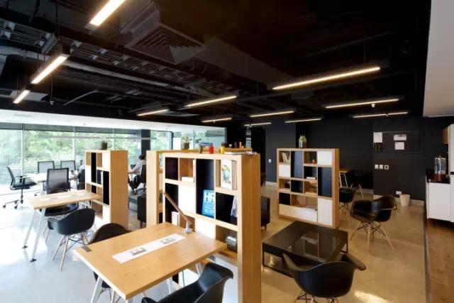 上海园方科技信息技术有限公司办公家具工程案例