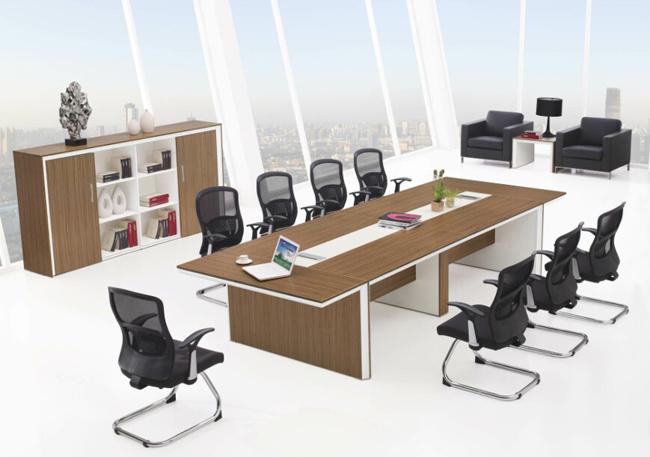 珍贵木皮贴面办公室家具,在时间里流光溢彩,岁月生香