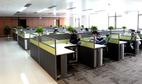 看高科技事业单位如何玩转小清新时尚办公家具