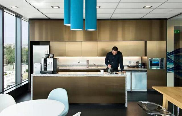 最美办公室家具之时尚茶水间系列家具