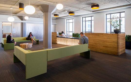 办公室家具色彩治疗给你愉悦办公
