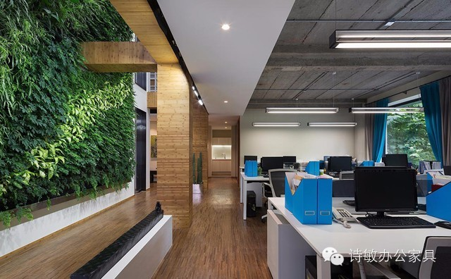 环保理念打造时尚办公家具空间