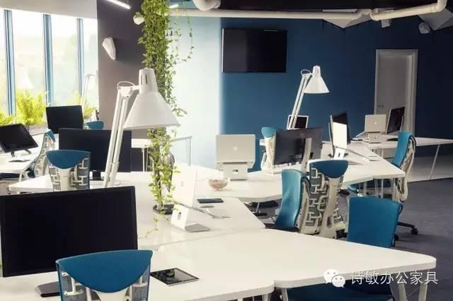 员工办公区,屏风工作位要多高?