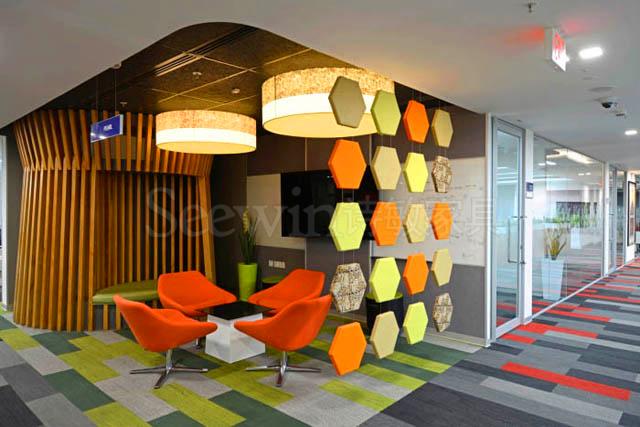 色彩也能让你的办公空间高大上