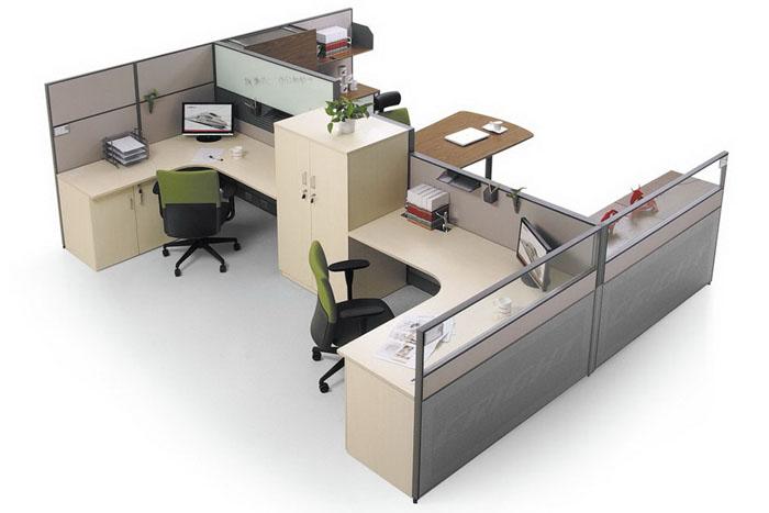 现代化办公室装饰为何选择办公屏风隔断?