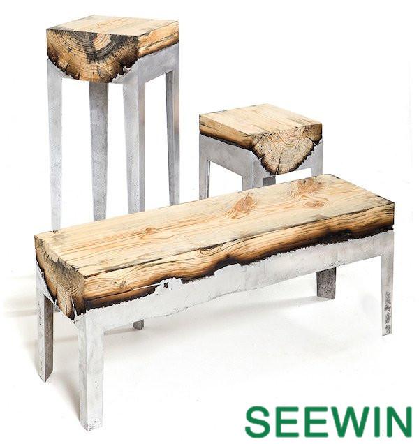 巧夺天工 的原木家具摩登设计