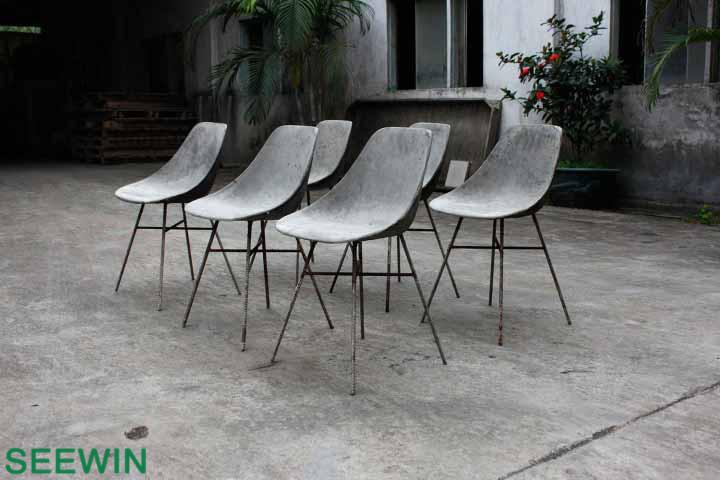 D' Hauteville 混凝土椅工业设计:向经典致敬