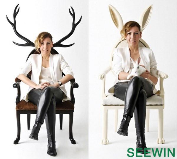 奇趣设计:半兽人椅灵感