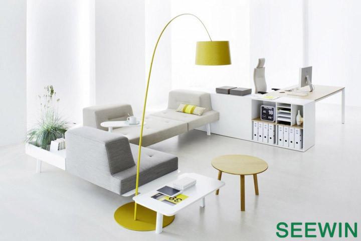灵动 时尚办公 模块化家具组合