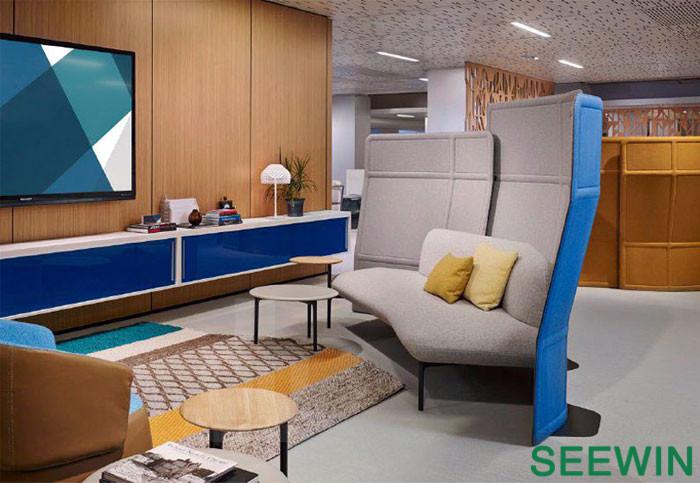 灵活多变的独立办公室家具空间