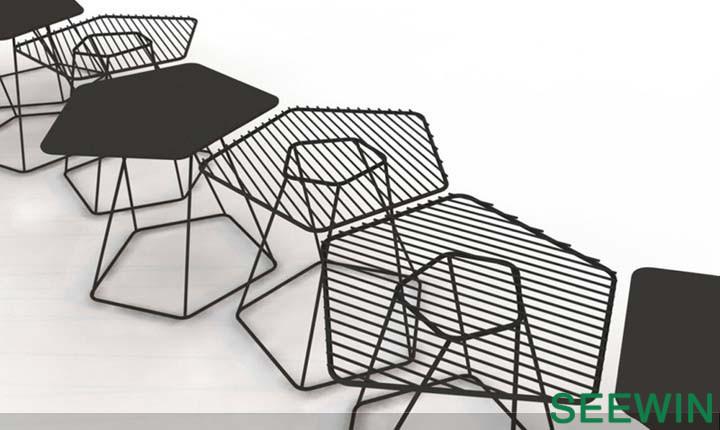 当咖啡桌赋予了建筑感