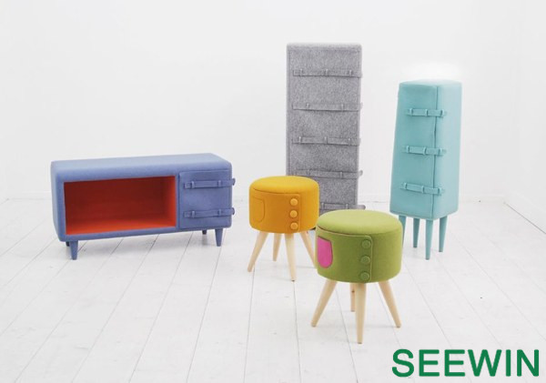 色彩着装的家具 The Dressed-Up Furniture Series