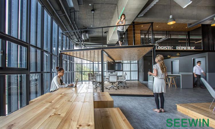 台湾物流公司工业风办公室设计欣赏