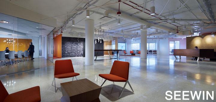 活力橙色设计 韦斯特切斯特总部欣赏