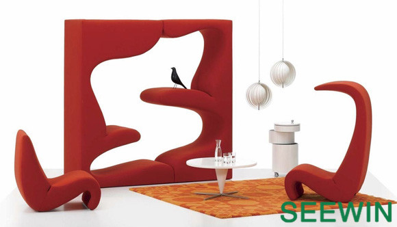 维纳尔·潘顿:Amoebe 高背变形虫沙发椅
