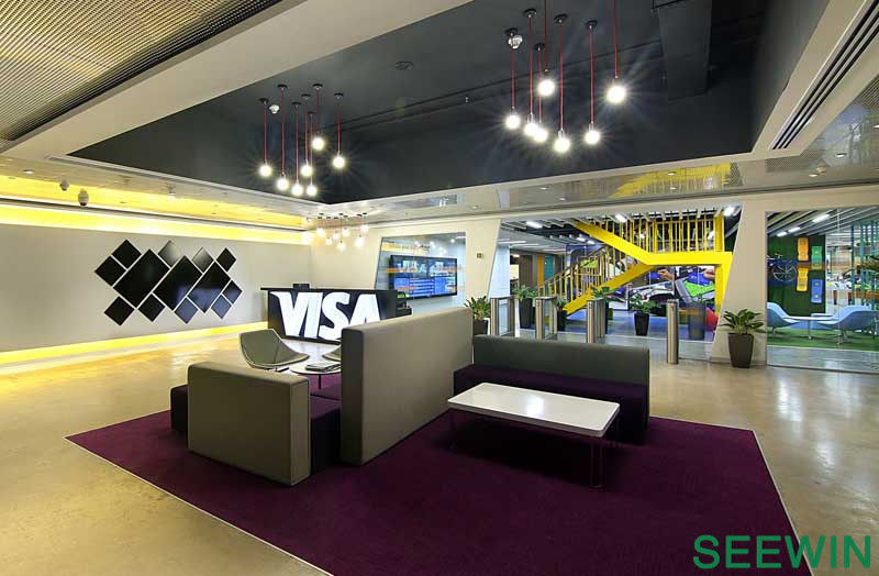 办公中的智慧乐园 信用卡巨头Visa公司班加罗尔技术研发中心