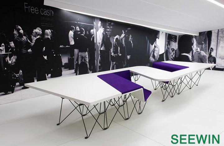UNStudio:SitTable一体式多元桌椅设计