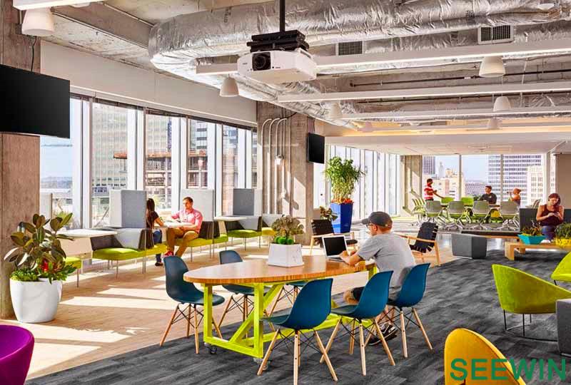 奥斯汀办公环境Atlassian软件公司设计欣赏