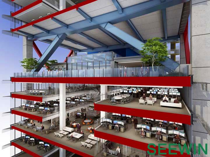 美国大都 天空之城悉尼的办公空间设计