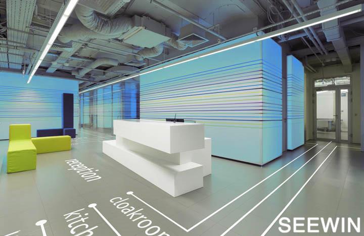 好色的办公室 五光十色 设计欣赏