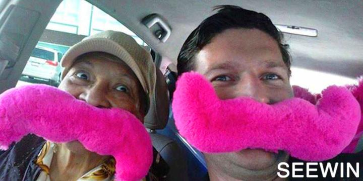 天呐撸 粉色大胡子