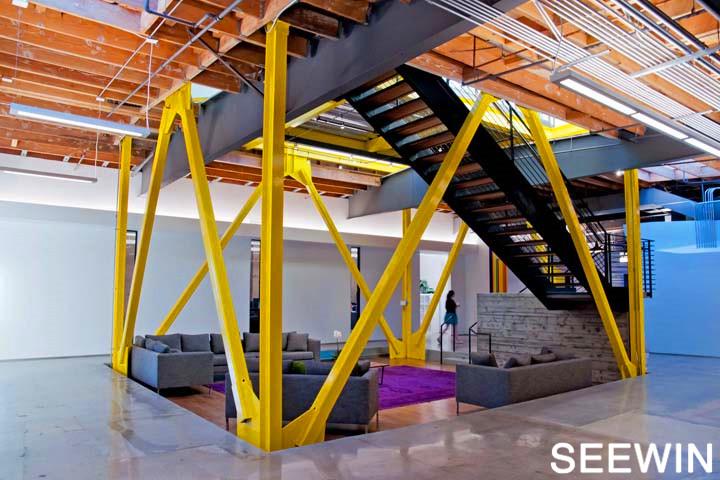 美国科幻大片,工业质感的洛杉矶  办公室设计欣赏