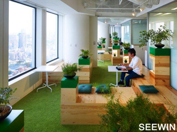 日本传统文化的设计 东京六本木办公室