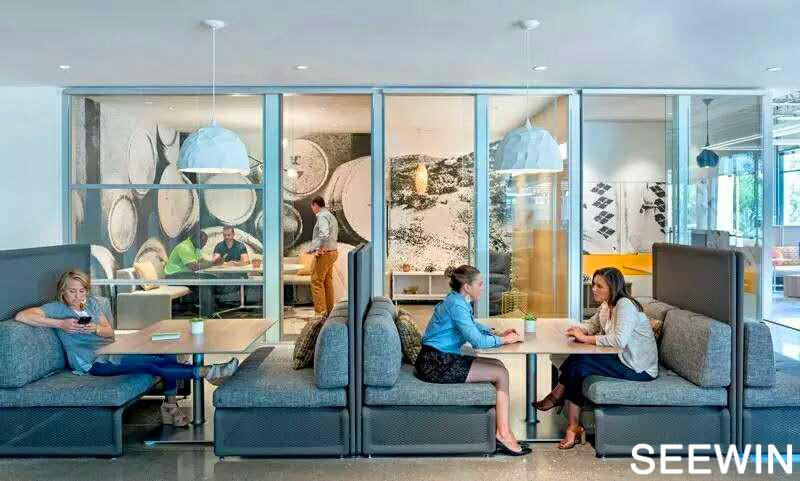 空间故事 BKM加州总部办公与展厅 设计欣赏