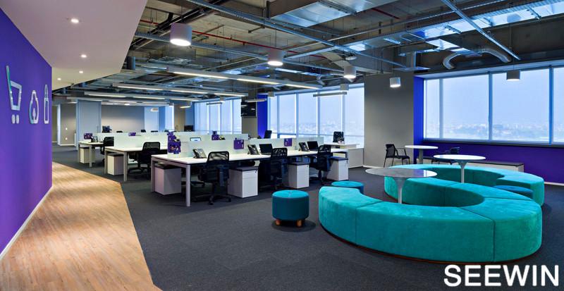 开放式交流办公空间 巴西Alelo圣保罗总部设计欣赏