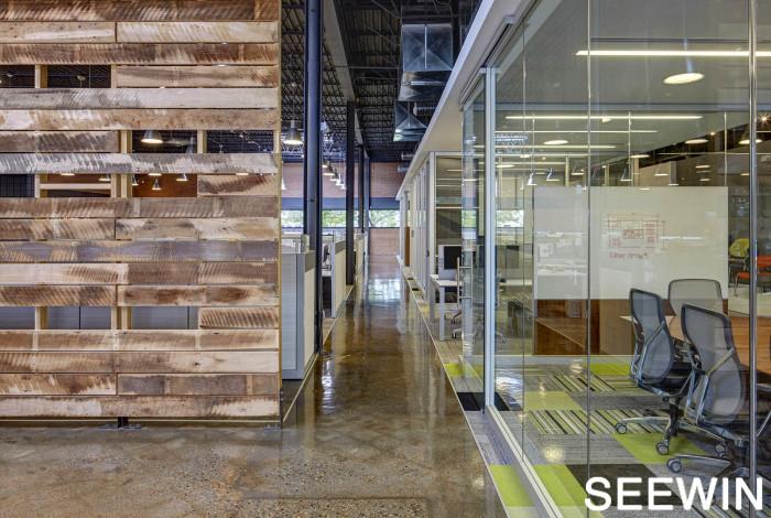 最机智的商家 办公区域和销售展厅两不误