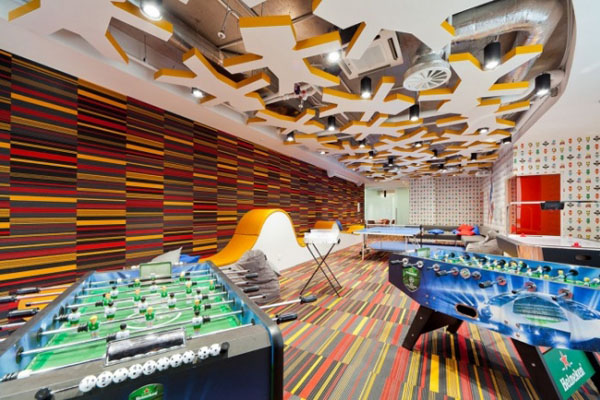多种元素打造更出彩的办公空间