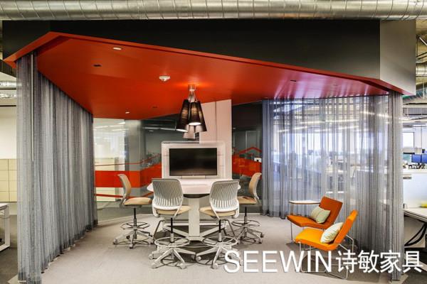根据不同性质的办公环境来选择适合自己公司的颜色!