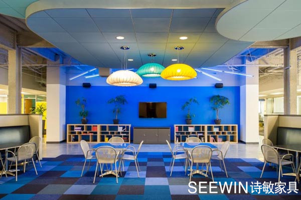 创意办公家具打造工业风新玩法!
