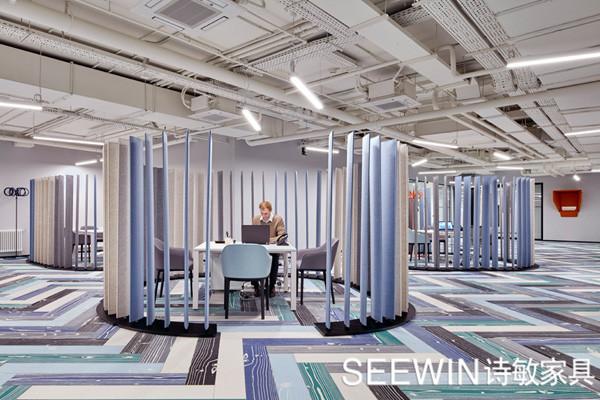 如何利用办公家具与装修减弱办公室噪音!