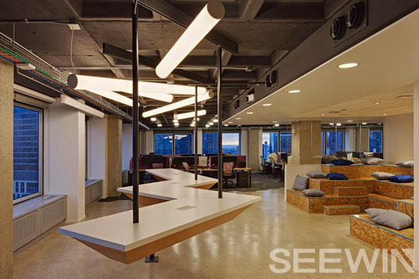 用心设计,将多种工作区域完美糅合!
