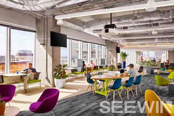 粗犷loft工业风办公家具,打造青春气息的办公环境