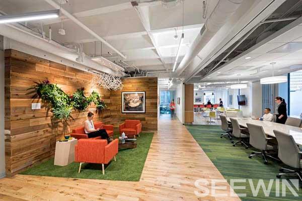 可持续发展与时尚办公家具结合,打造绿色办公空间
