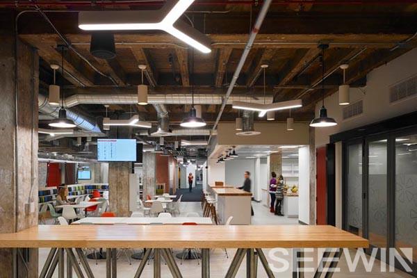 创意办公家具打造工业化城市美学办公空间
